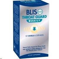 Blis K12 Throat Guard Daily Strawberry