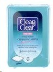Clean and Clear Deep Action Cleansing Wipes