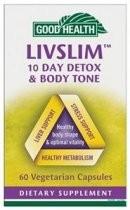 Good Health LivSlim Detox and Body Tone Capsules