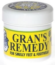 Gran's Remedy For Smelly Feet and Footwear