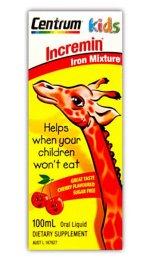 Incremin Iron Mixture Oral Liquid