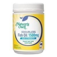 Natures Own H/S Fish Oil Capsules