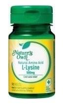 Natures Own L-Lysine