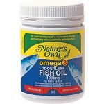 Natures Own Omega 3 Odourless Fish Oil 1000mg