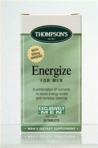 Thompsons Exclusively Men Energize for Men